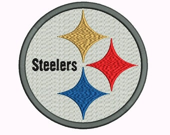 Pittsburgh Steelers Embroidery Designs - 5 sizes Instant Download