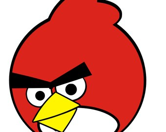 Angry Birds Red SVG Instant Download!!!!