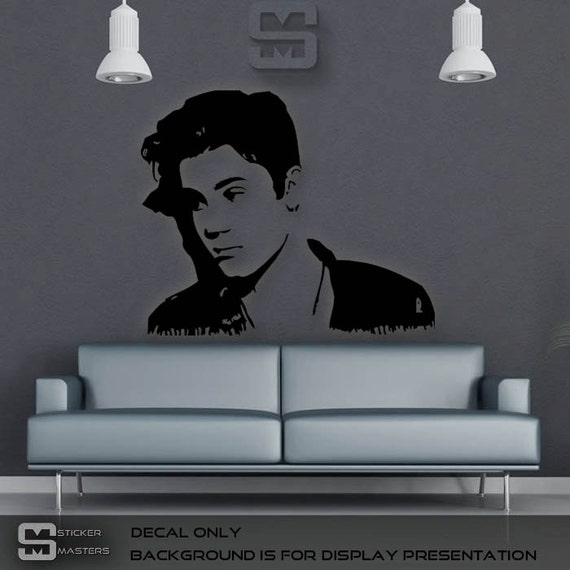 justin bieber sticker justin bieber decal justin by stickermasters. Black Bedroom Furniture Sets. Home Design Ideas