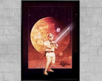 Star Wars Episode IV A New Hope Classic Trilogy Art Movie Poster