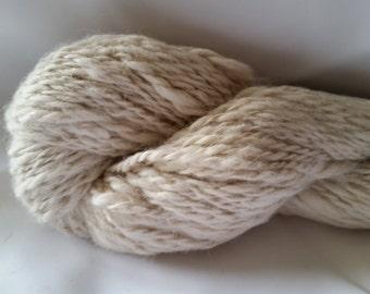 Alpaca Handspun Huacaya Yarn - Luther