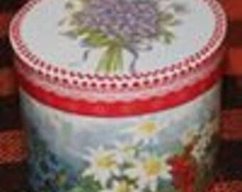 "Casket ""Mountainous flowers"""
