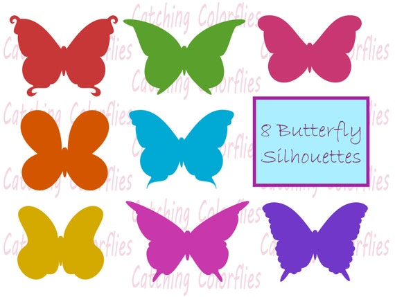 butterfly silhouette clipart clip art instant download butterfly rh catchmyparty com butterfly wings images clip art butterfly images clip art black and white
