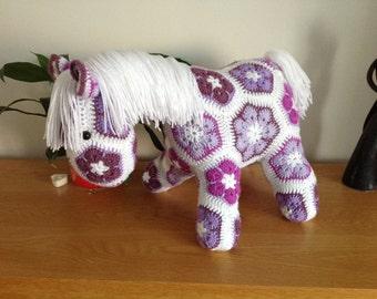 Crocheted Pony