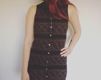 Tribal Vintage Maxi dress