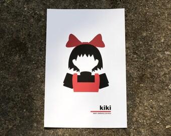 Kiki Modern Print