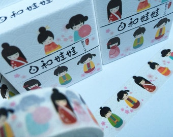 Geisha girl washi