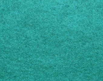 555 - Petrol - Merino Wool Felt