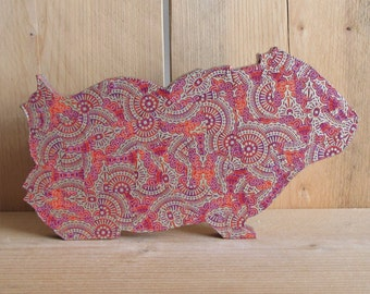 Decopatch Guinea Pig Craft Kit - Pink