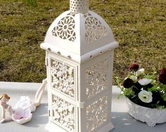 European Mediterranean Style Wedding Metal Candle Holders Candlestick Vintage