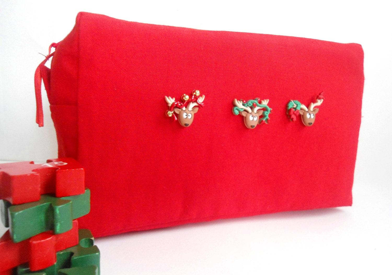 Sale christmas gift large makeup bag xmas by piebag