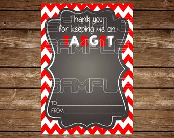 Target Gift Card Holder Tag - Any Event Holiday Printable