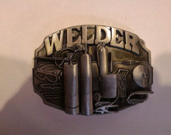Welder Belt Buckle