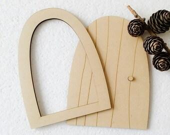 Irish Fairy Door Blank for DIY
