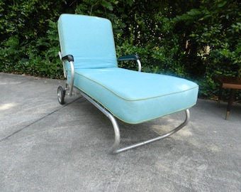 Chaise Lounge for your Patio or Porch 1960's