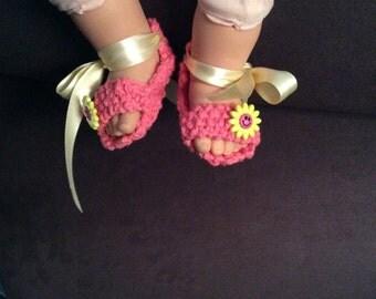 Baby bootie sandals