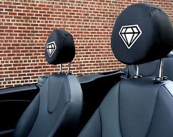 Diamond Life Auto SUV Head Rest Covers