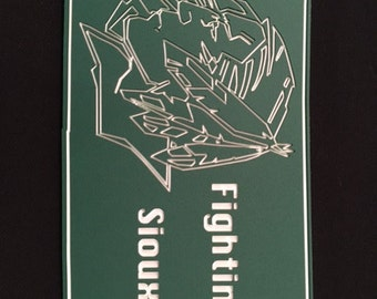 Fighting Sioux State Plaque