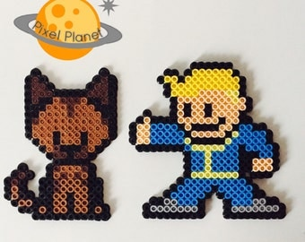 Fallout Perler Beads Sprite Collection