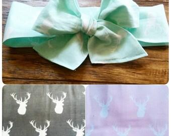Pastel Deer Headwraps