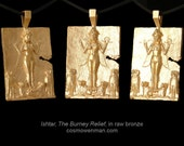 Queen of the Night, Ishtar, necklace pendant