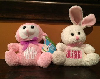 Personalized Easter stuffed animal