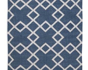 Juno Blue Eco Friendly rug 6ft x 4ft