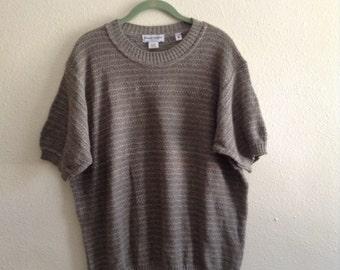 1970s M/L Paolo Valenzi vintage knit t-shirt