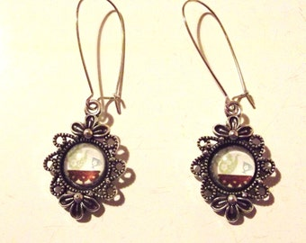 "Earrings ""Tea Time"""