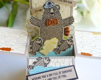 Father's Day Bear Card