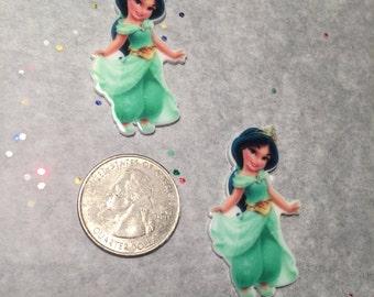Jasmine Toddler Planar Resin-Jasmine Cabochon-Jasmine Embellishment