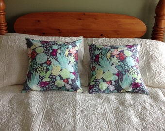 Southern Gray Spring Pillow Covers