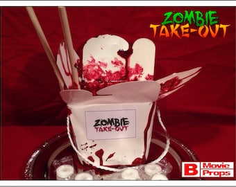 Zombie Take-out candy dish