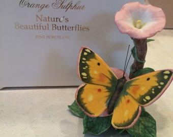 Stunning Lenox Orange Butterfly