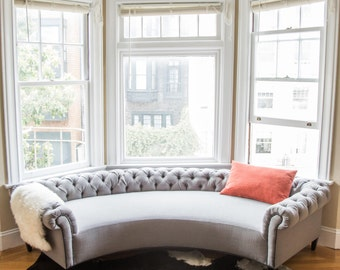 Bay Window Sofa-The Chestnut-Daybed