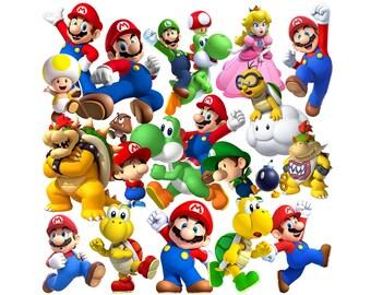 Super Mario 70 images PNG clipart