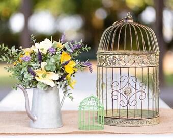Silk floral arrangement, artificial arrangement, silk flower bouqet, watering can container, silk flower arrangement