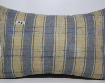 Striped Anatolia Kilim Pillow 16x24 Vintage Turkish Kilim Pillow,Sofa Pillow,Bohomian Pillow Decorative Pillow Cushion Pillow SP4060-79