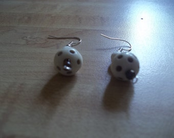 Polka-Dot Earrings