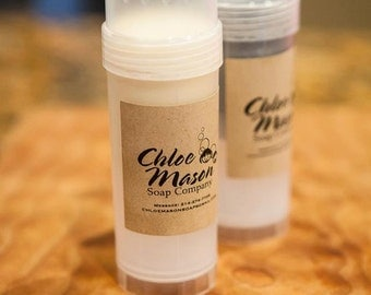 All Natural HIS / HER deodorant sticks with essential oil and activated charcoal, charcoal deodorant