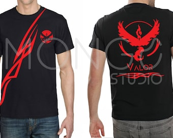 Pokemon GO T-shirt Team Valor