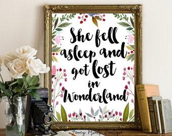 Alice in Wonderland Nursery,Alice in wonderland wall art,Alice in wonderland Print,Whimsical prints,Nursery Printable ,Nursery Poster