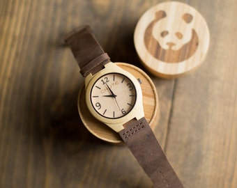 Bamboo Watch Natural - World's Most Comfortable Watch (Small Face)