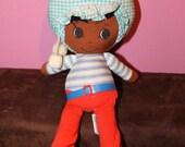 "Vintage African American Shindana Li'l Souls 10"" Doll"