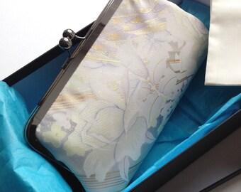 Clutch bag/purse handmade from Kimono silk