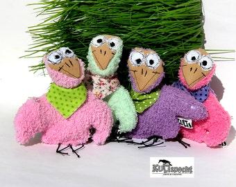 Mascot, plush toy, plush bird, little bird, colour