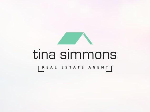 Real Estate Agent Logo With Roof Image Instant By