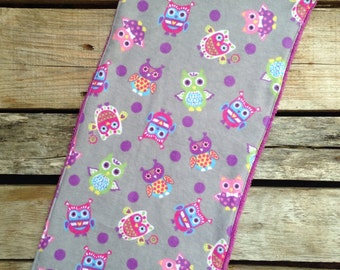 Flannel & Terry Cloth Burp Cloth