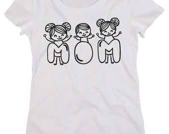 Women Organic Tshirt in Organic Cotton MOTHER'S DAY 2