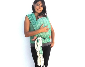 "197 "" Mexican woven baby wrap carrier long  Rebozo sling"